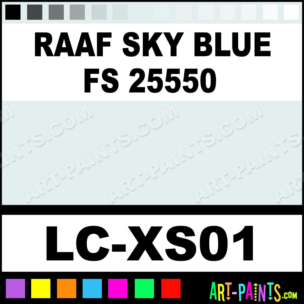 RAAF Sky Blue FS 25550 WWII Royal Australian Aircraft 1