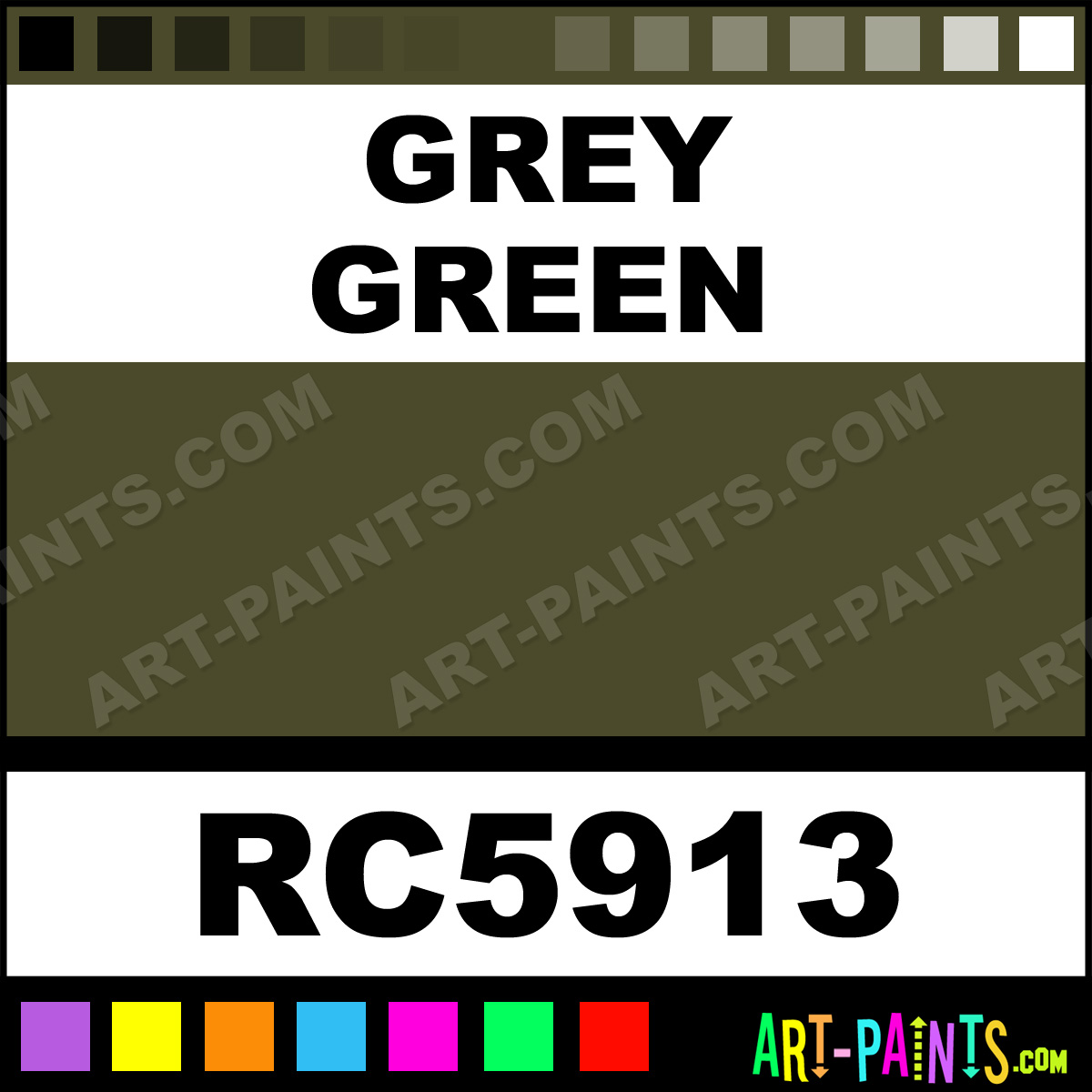 airbrush spray paints rc5913 grey green paint grey green color