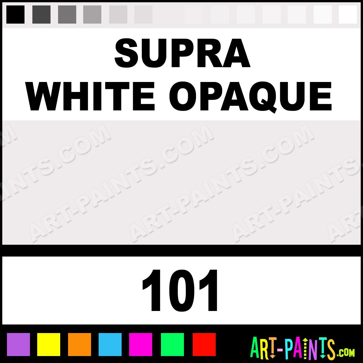 Supra White Face Paint