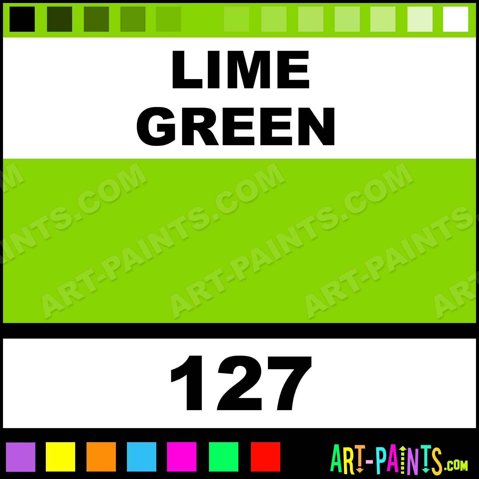 Lime green paint colors - Lime Green Lime Green Paint