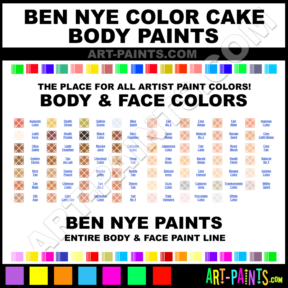 Ben Nye Red Body Paint