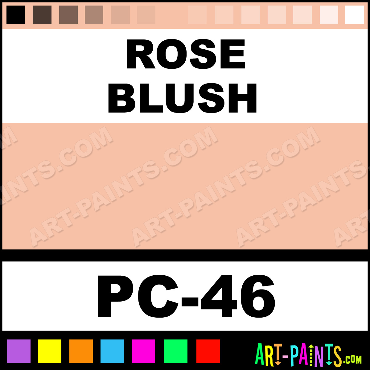 Paint Colors For Home Theater Rose Blush Color Cake Body Face Paints Pc 46 Rose