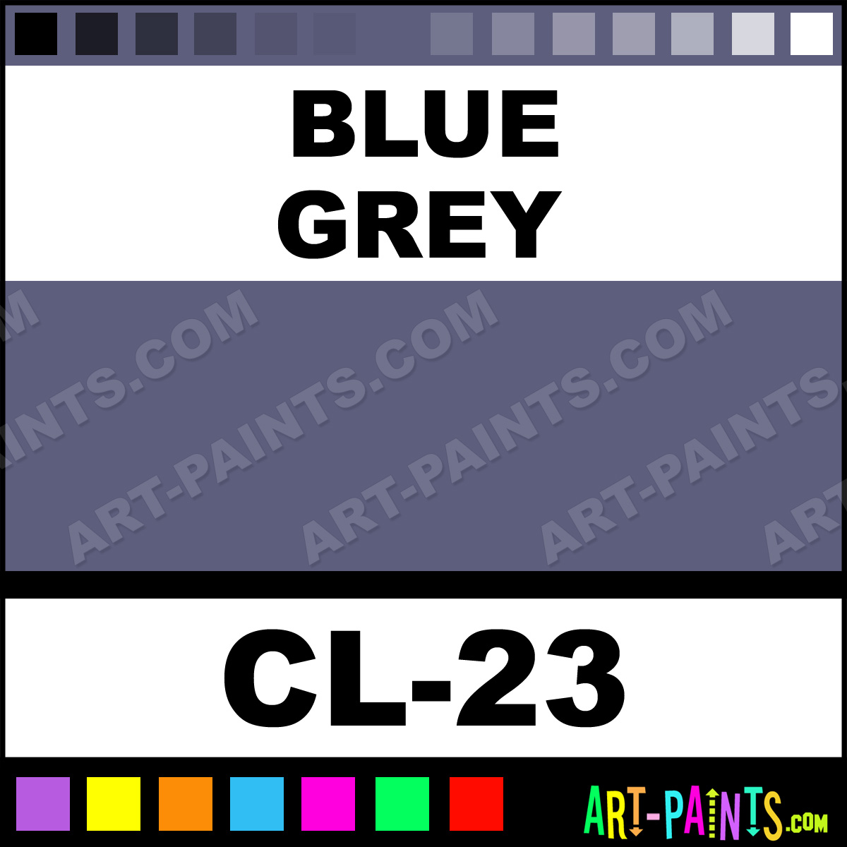 Ben Nye Grey Body Paint