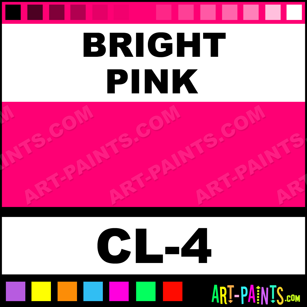 Bright Pink Paint Samples Kitchen Towels: Bright Pink Color Liner Body Face Paints