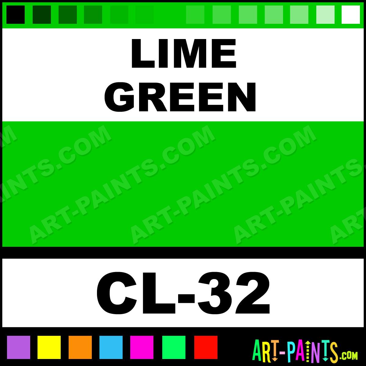 lime green color liner body face paints cl 32 lime. Black Bedroom Furniture Sets. Home Design Ideas