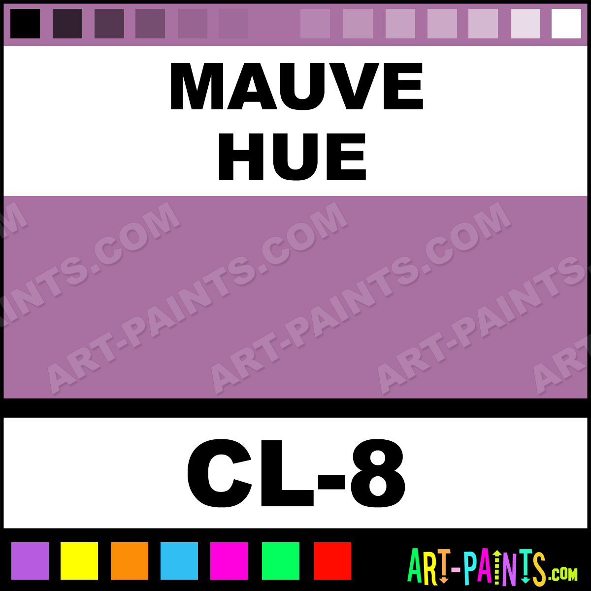 Mauve color liner body face paints cl 8 mauve paint - Colors that go with mauve ...
