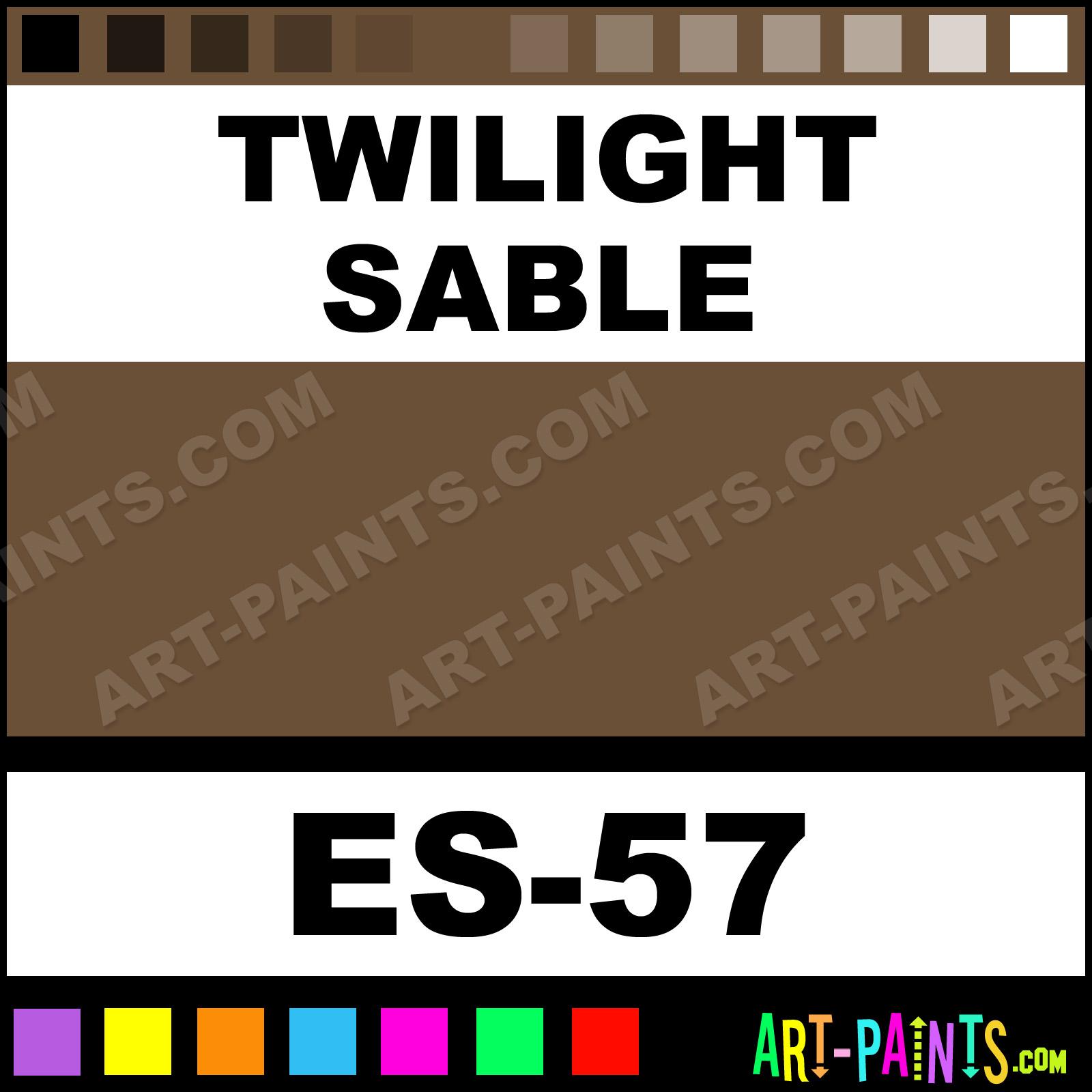 twilight sable - Sable Color