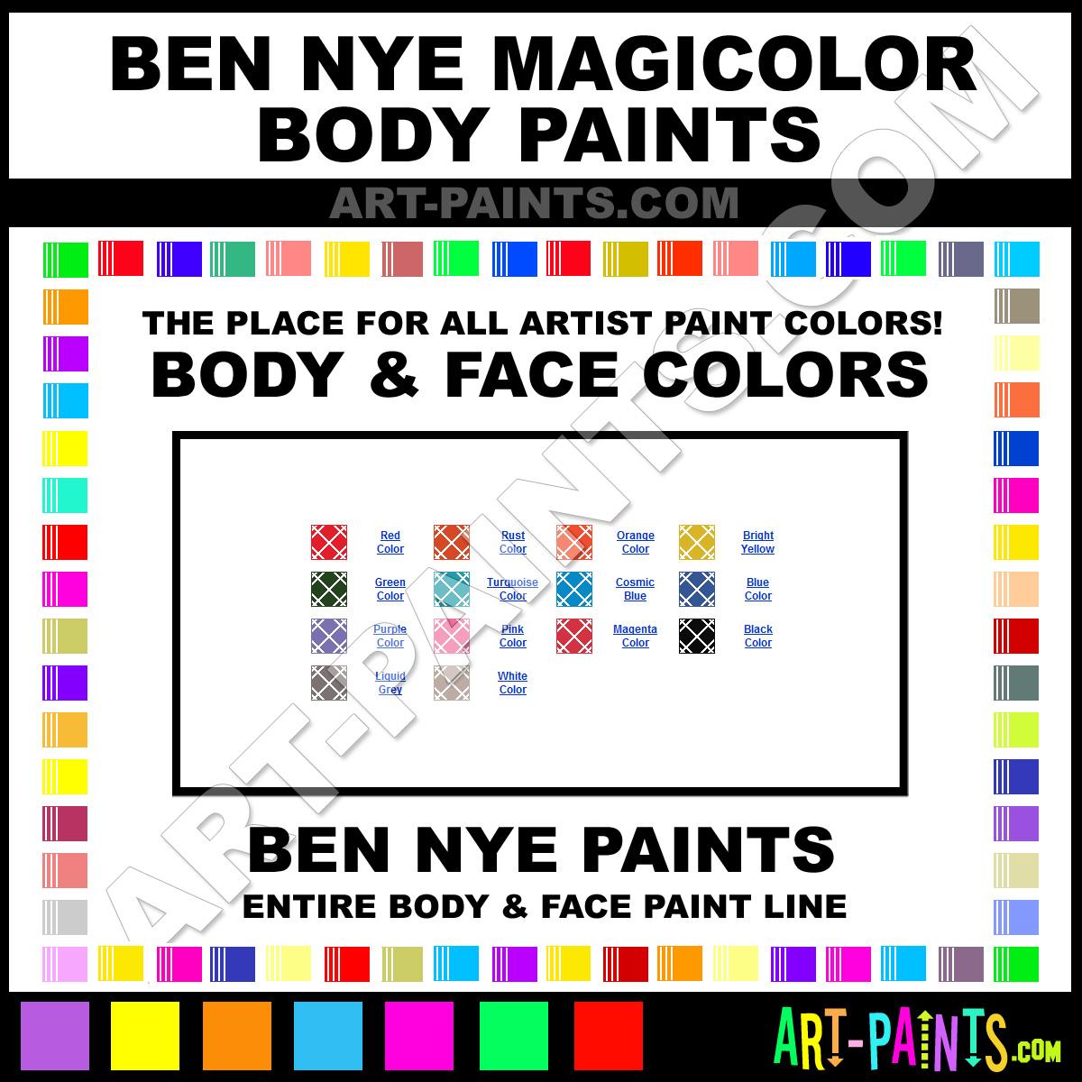 Leyland paints colour chart - Cosmic Blue Paint Ml 31 By Ben Nye Magicolor Paints Download Image Gr Grey Colour Chart