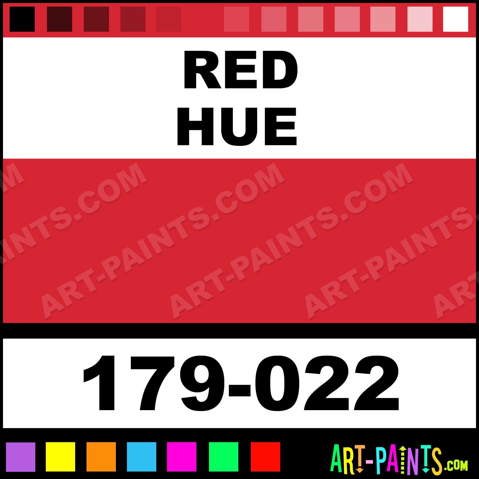 Red Makeup Body Face Paints - 179-022 - Red Paint, Red Color