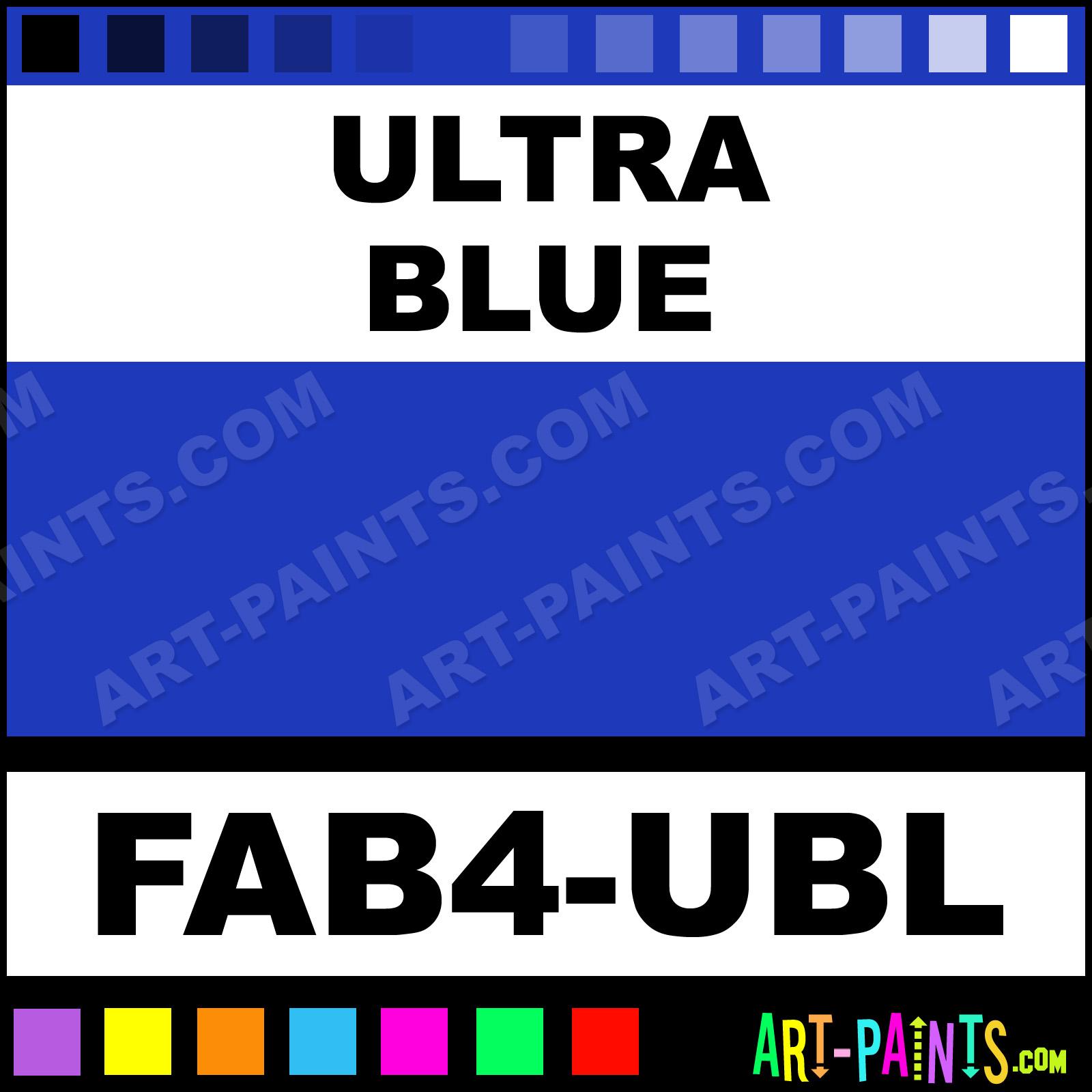 Fab Paints Ultra Blue