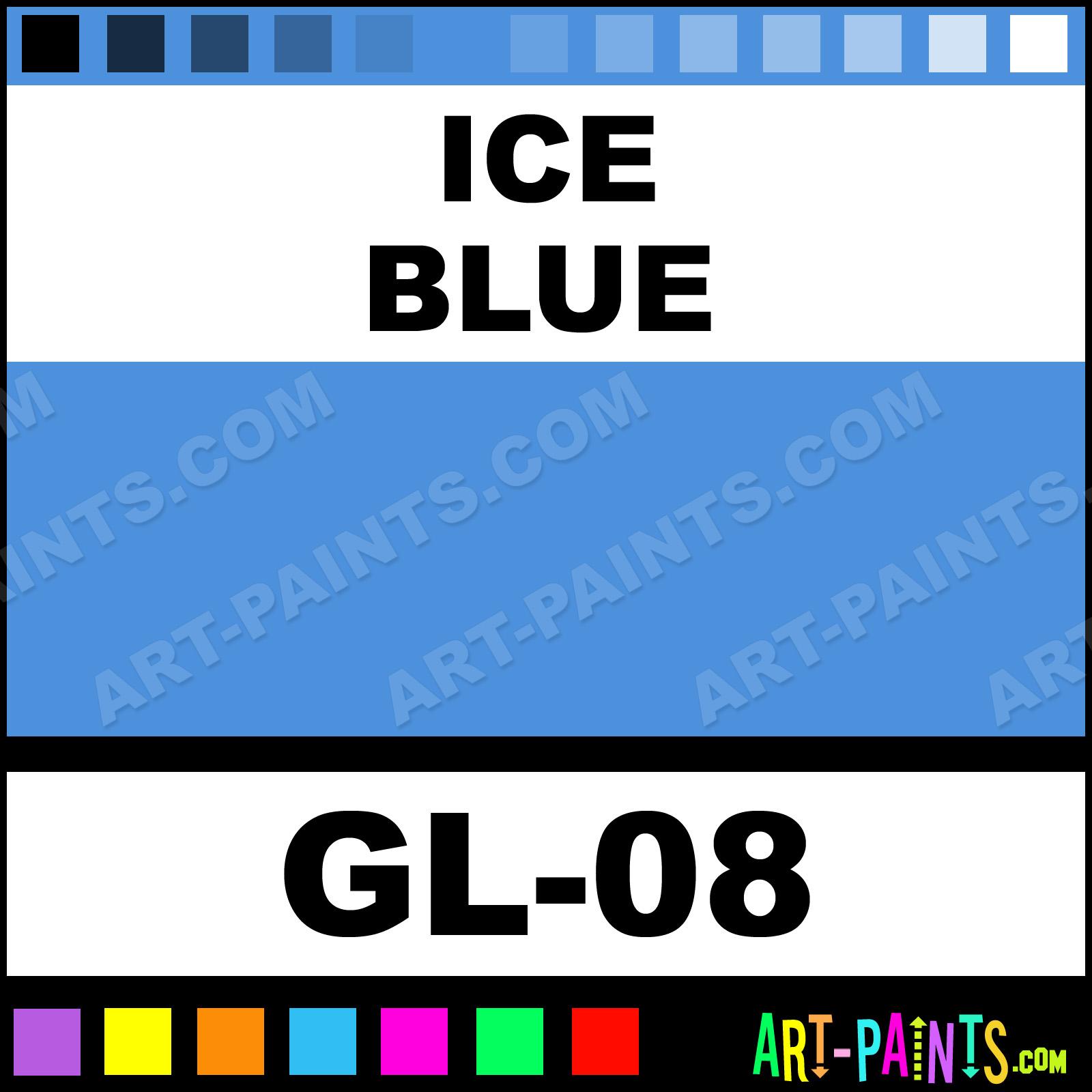 Ice Blue Paint