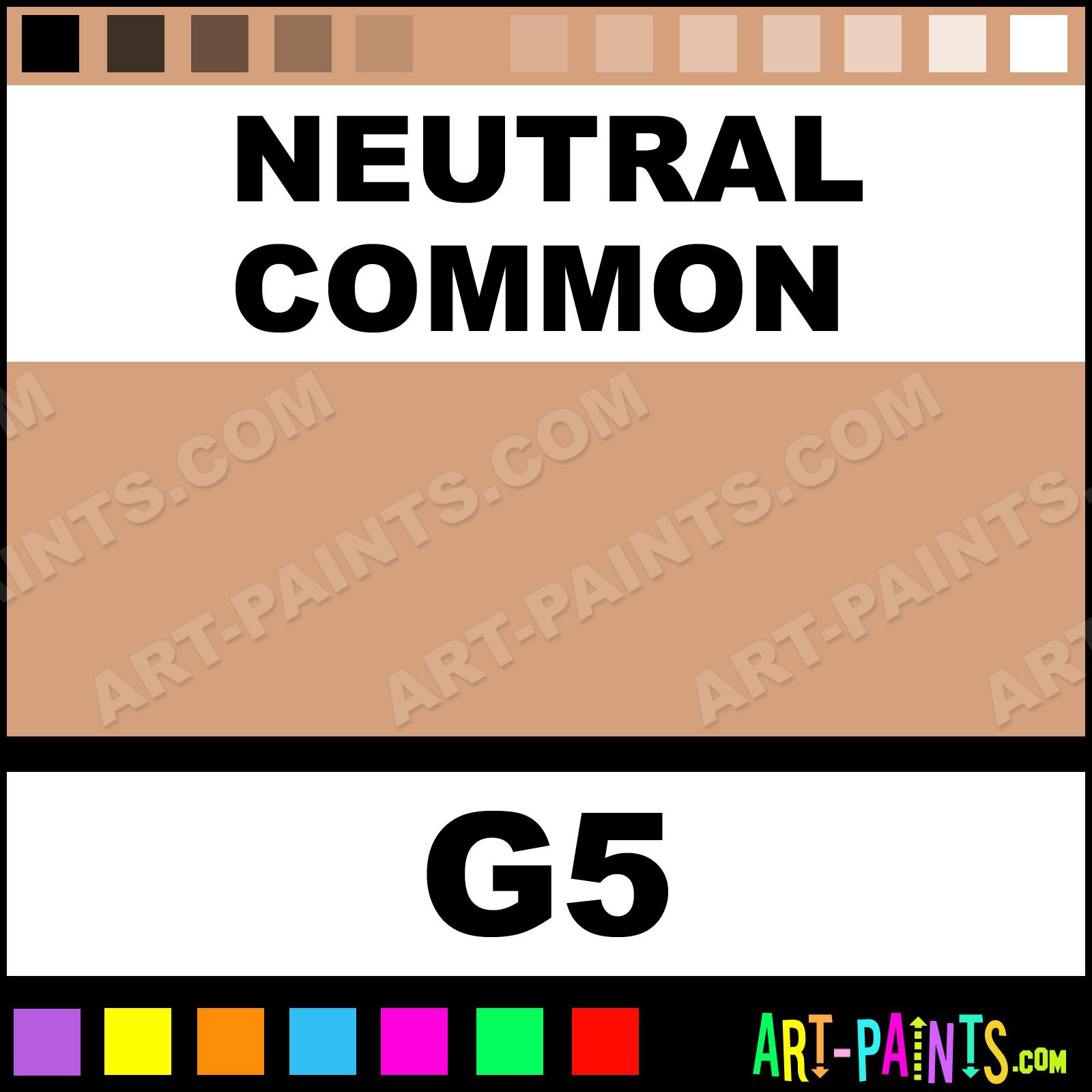 Neutral Common Creme Makeup Body Face Paints - G5 - Neutral Common ...