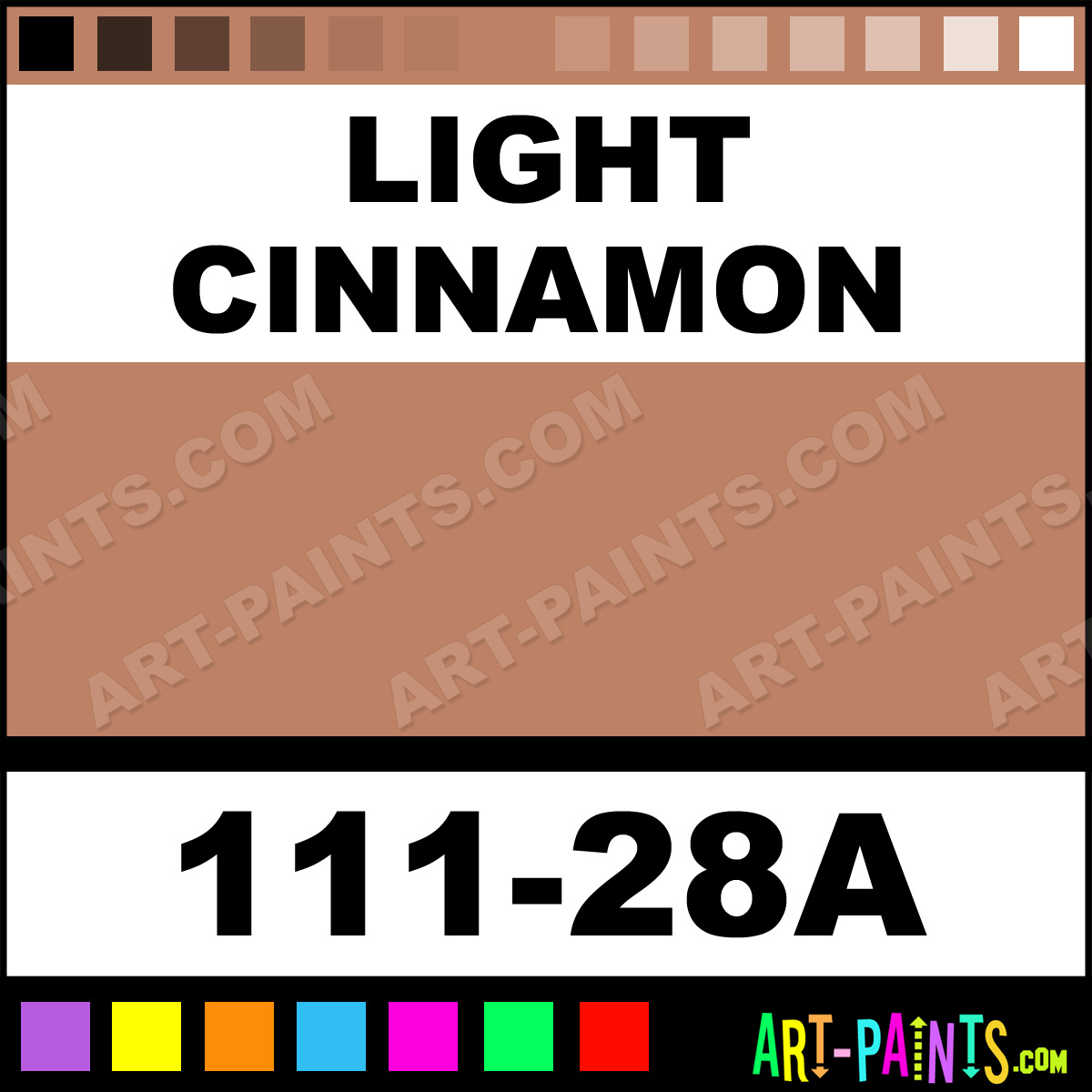 Light Cinnamon Paint Color