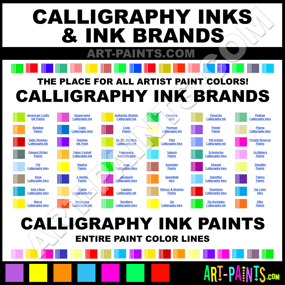 Calligraphy Art Paints Calligraphy Paint Calligraphy