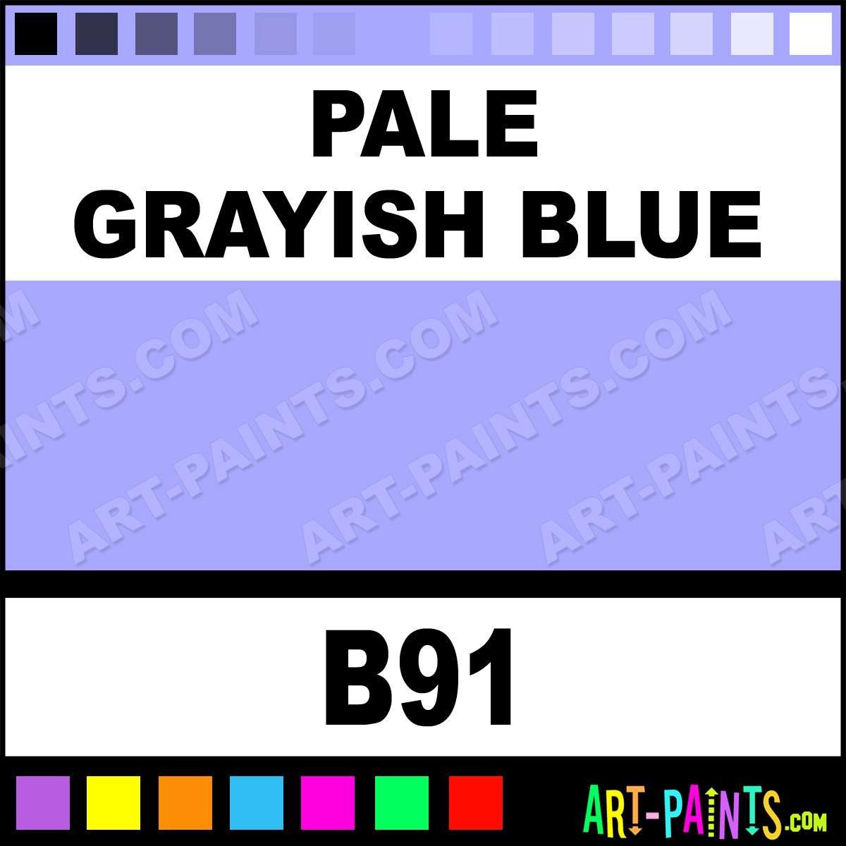 Grayish Blue Paint Color 1200 x 1200