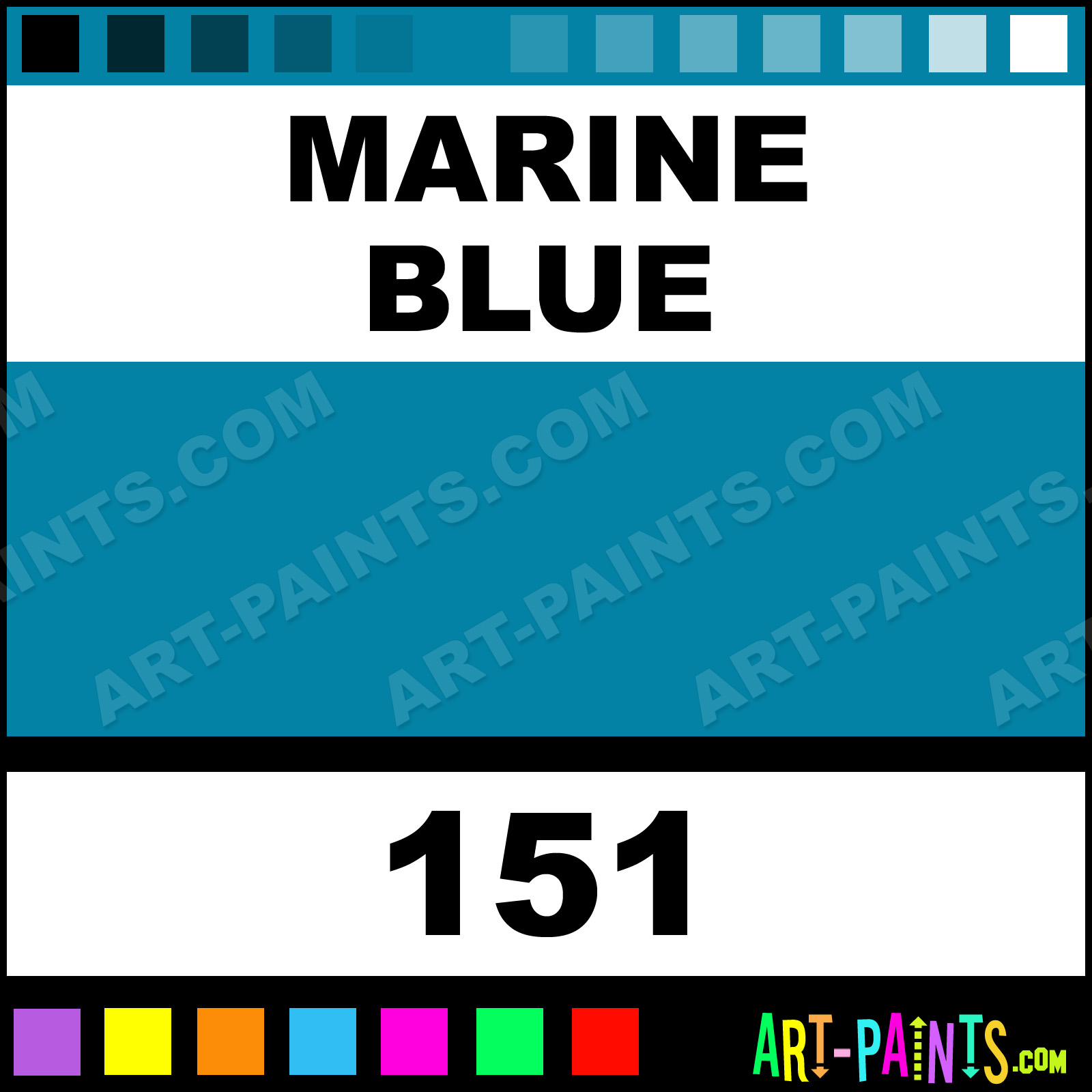 marine blue acrylic water resistant ink calligraphy ink paints and