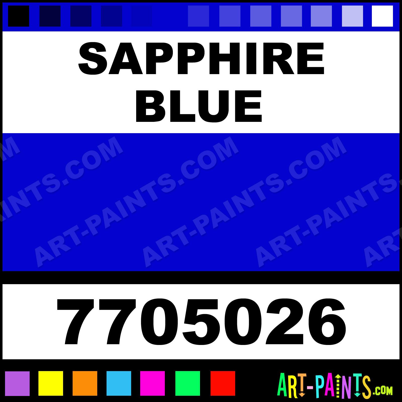 Jacquard Sapphire Blue Paint