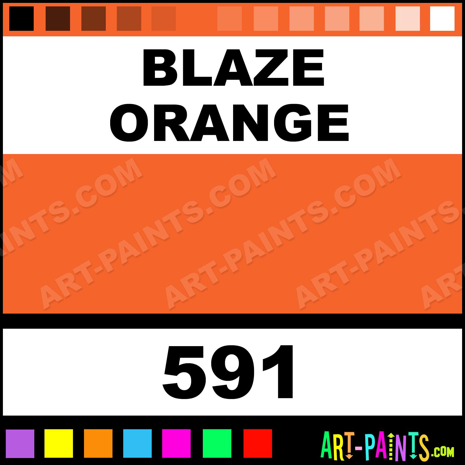 Blaze Orange Paint