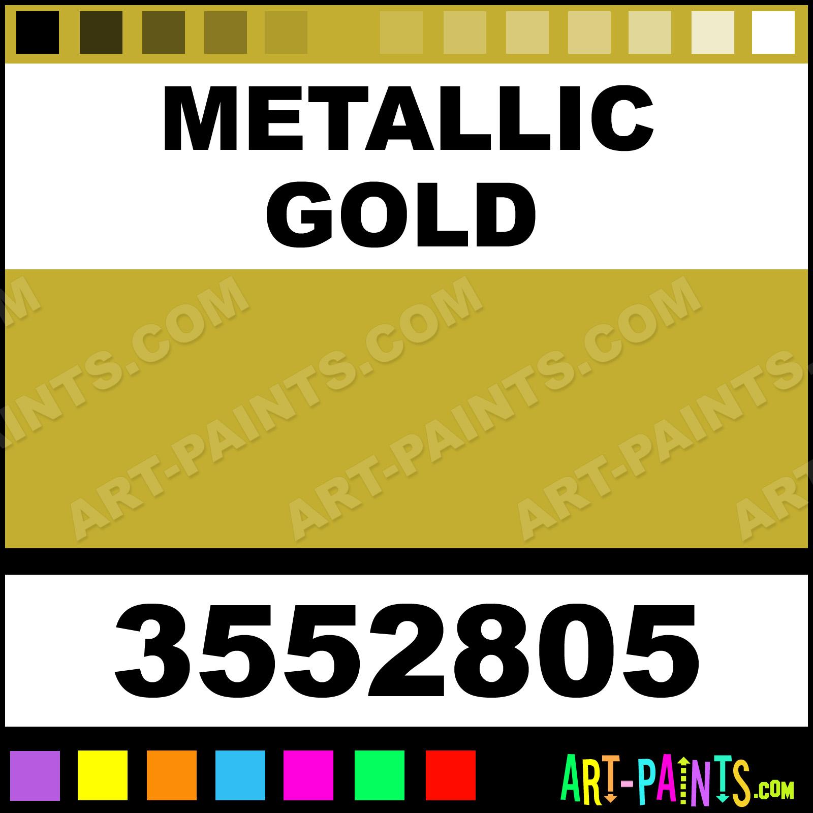 Metallic Gold Pigmented Acrylic Ink Calligraphy Inks