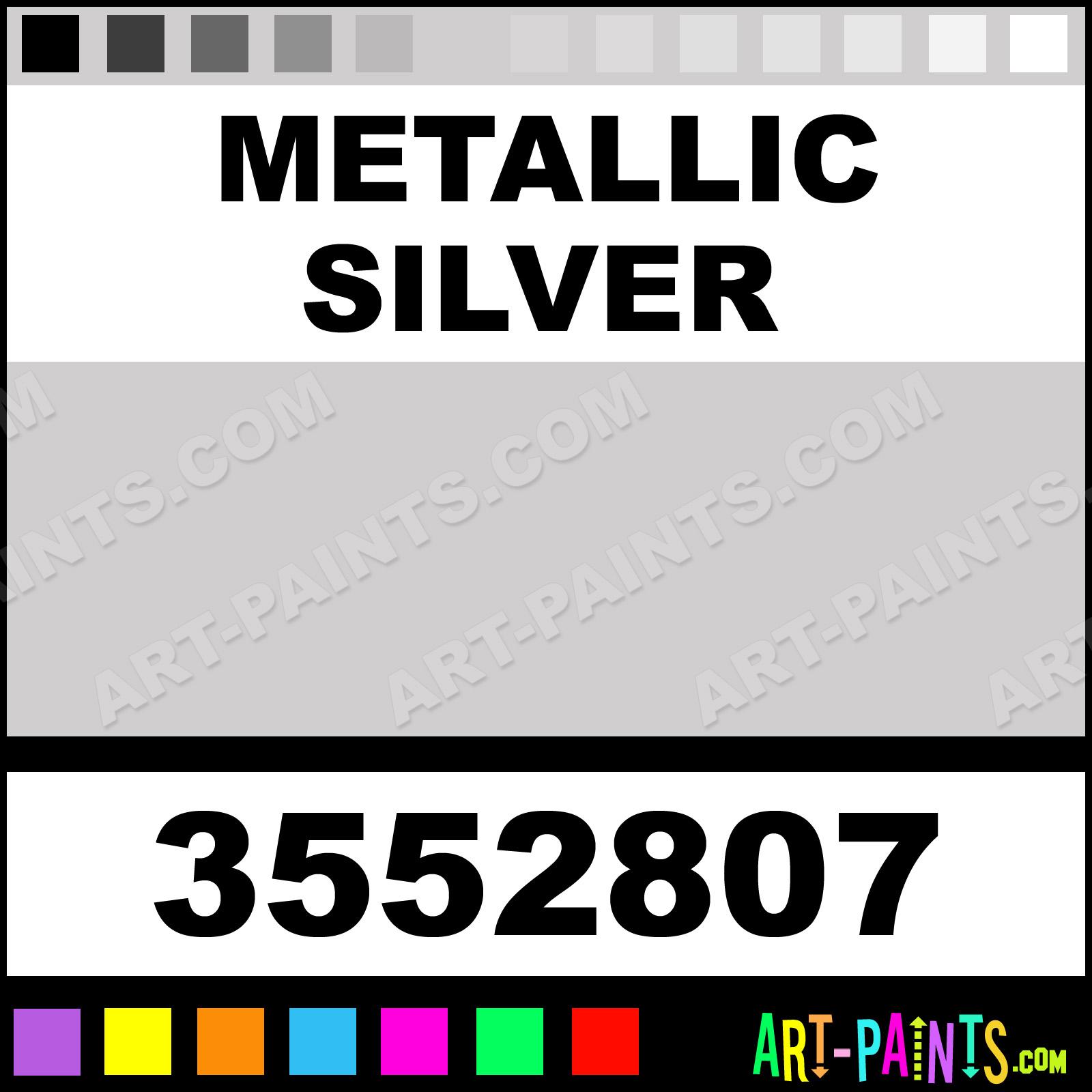 Metallic Silver Pigmented Acrylic Ink Calligraphy Inks