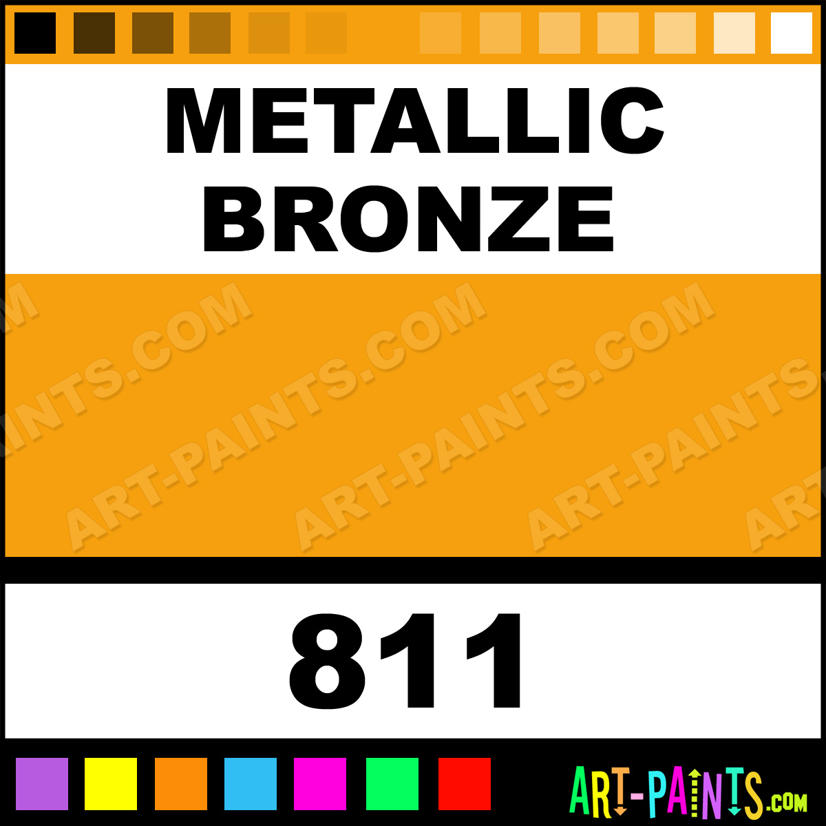 Metallic Bronze Extra Fine Gouache Calligraphy Ink Paints