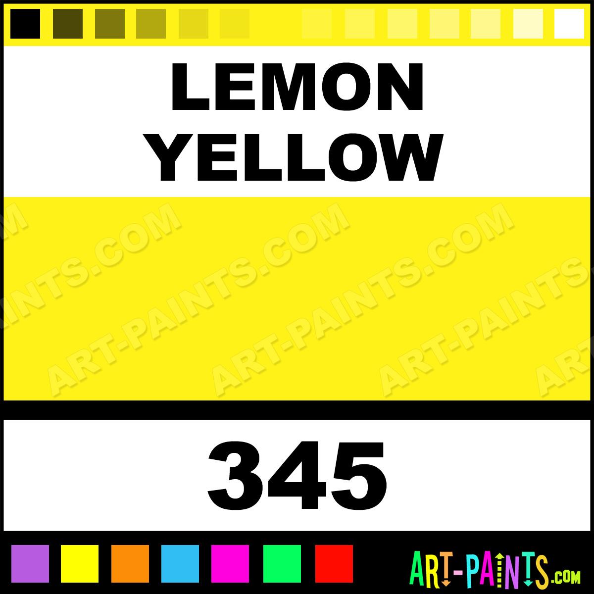 Lemon yellow calligraphy ink inks pigments