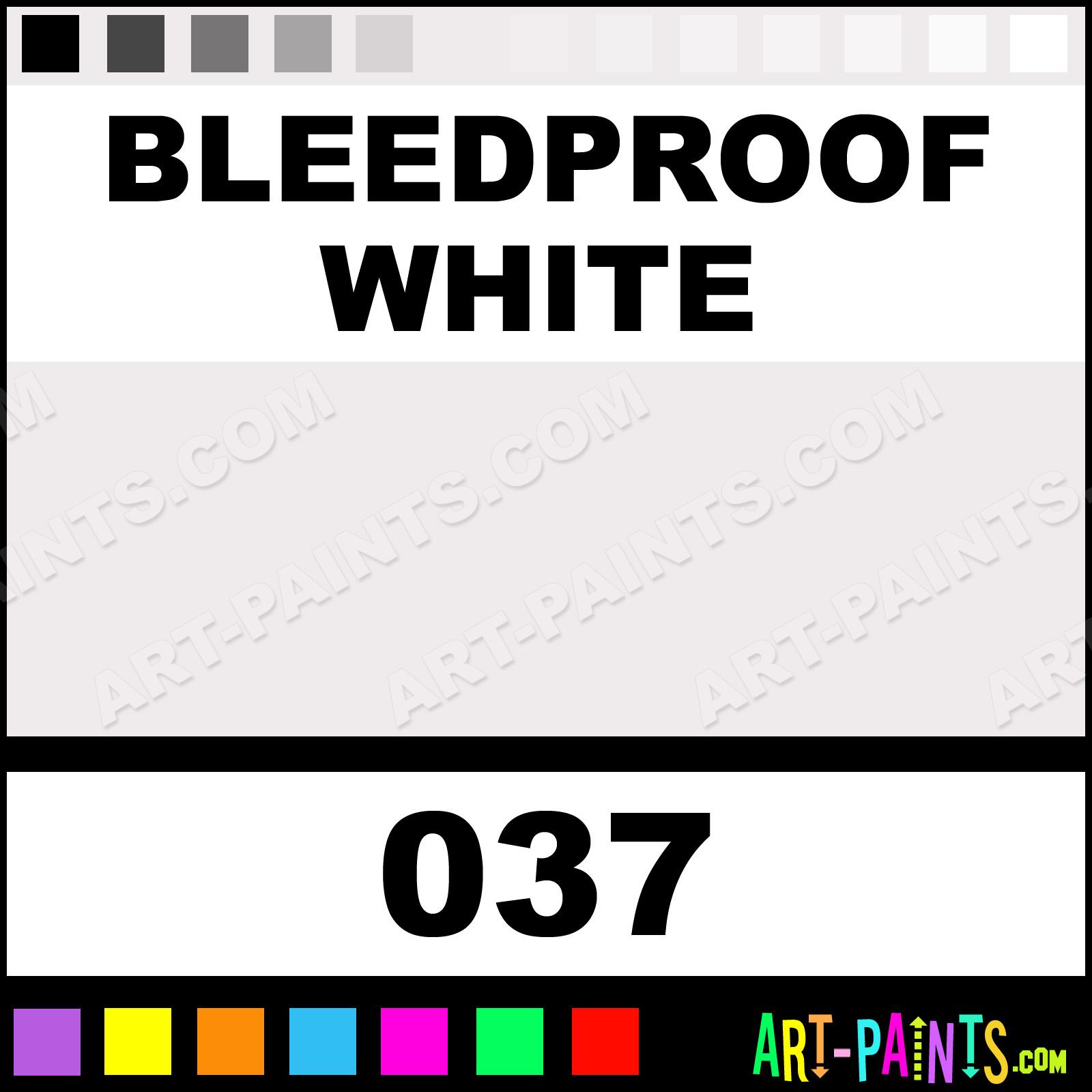 Bleedproof White Designers Gouache Calligraphy Inks