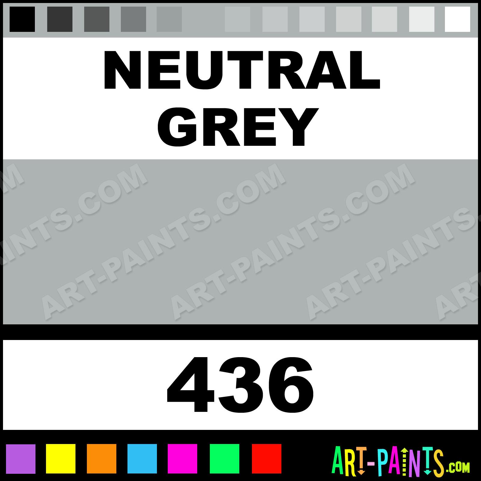 Neutral Grey Designers Gouache Calligraphy Inks Pigments
