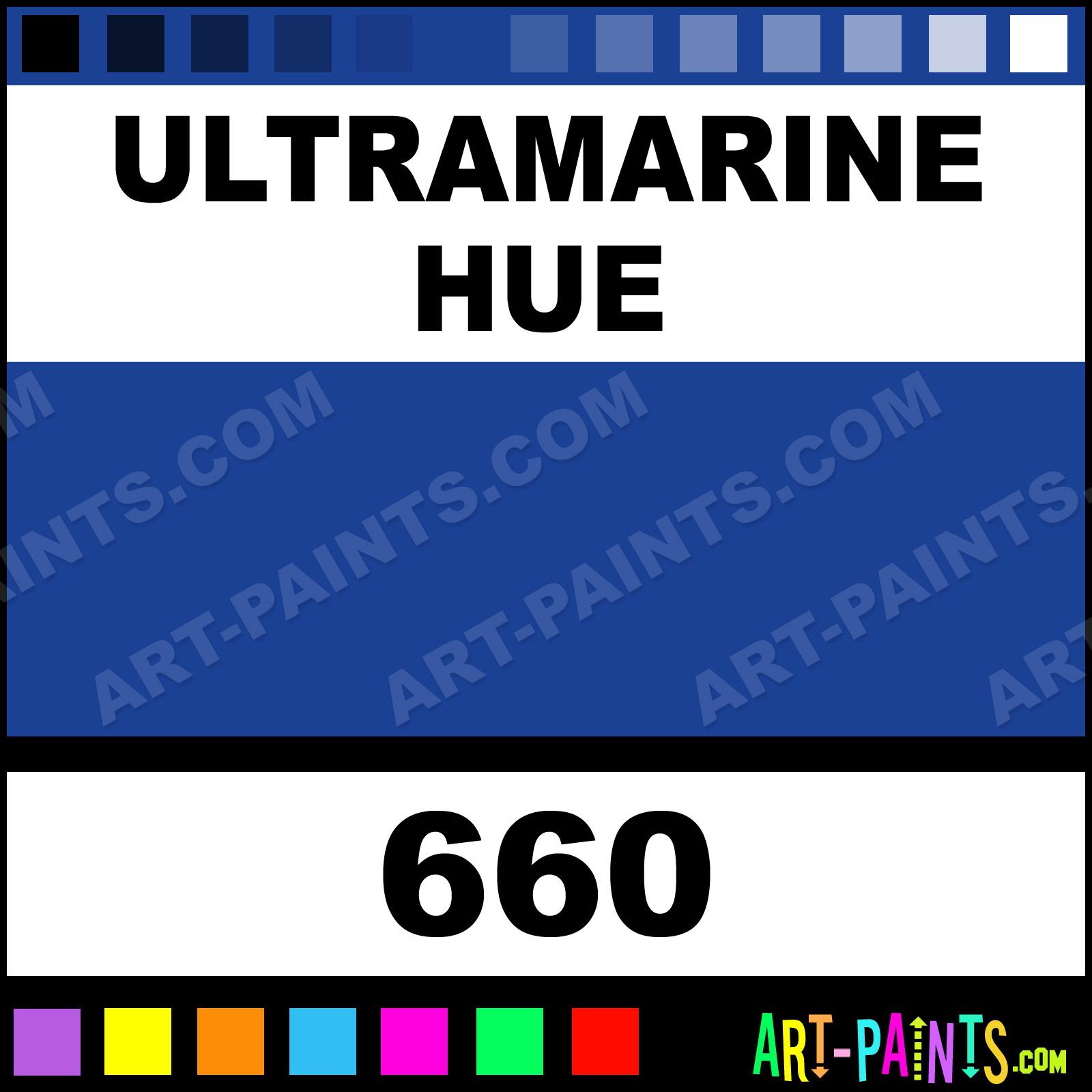 Ultramarine Designers Gouache Calligraphy Inks Pigments