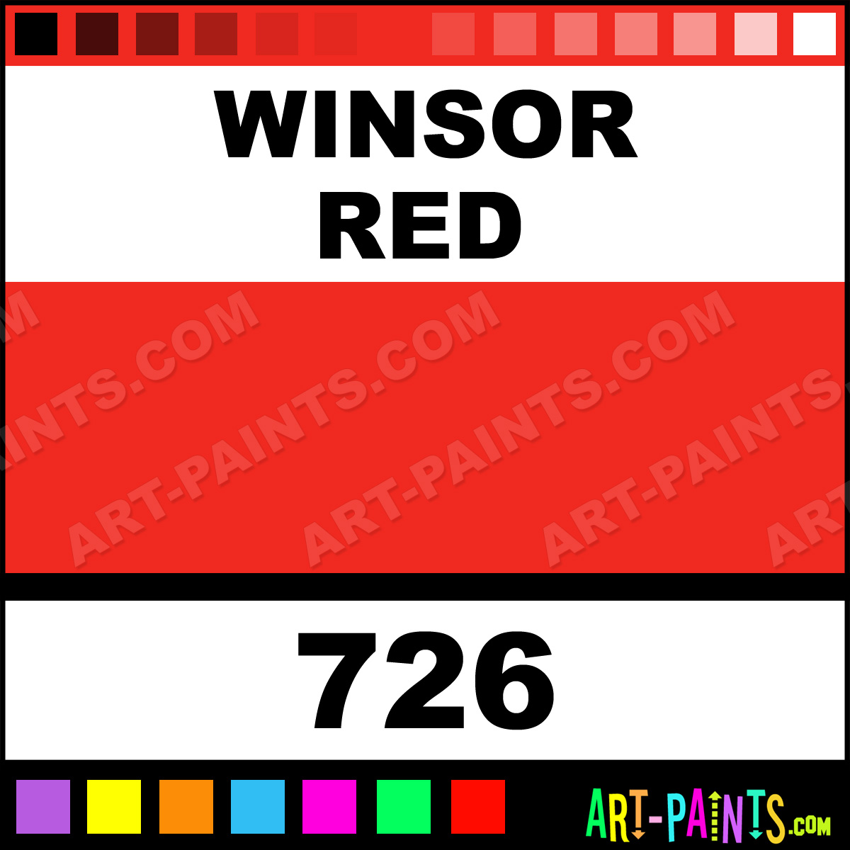 Winsor Red Designers Gouache Calligraphy Inks Pigments