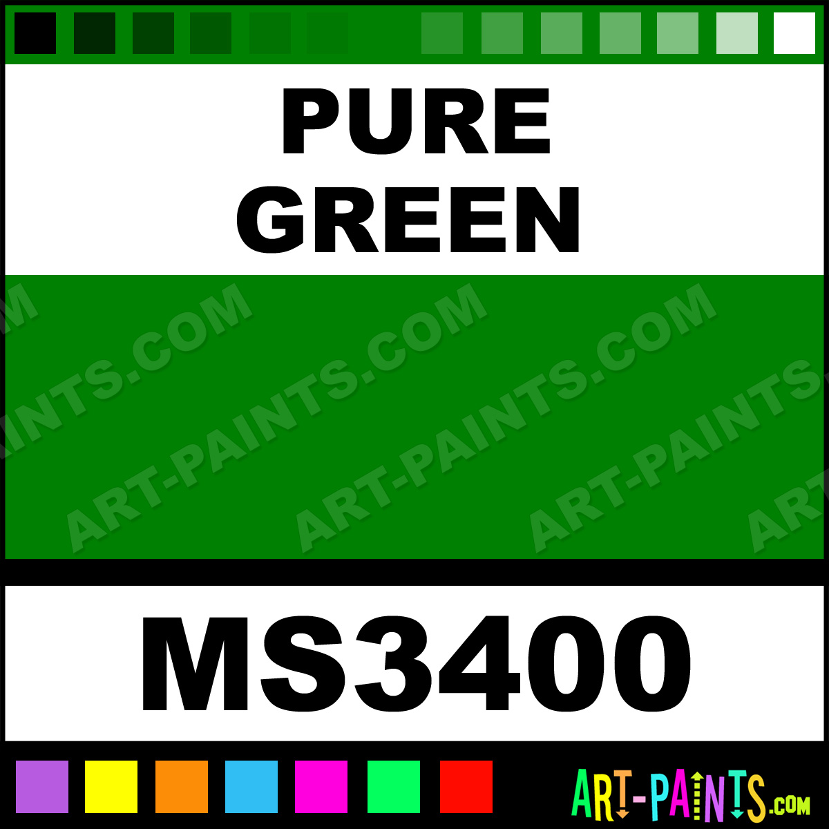 Pure Green Paint
