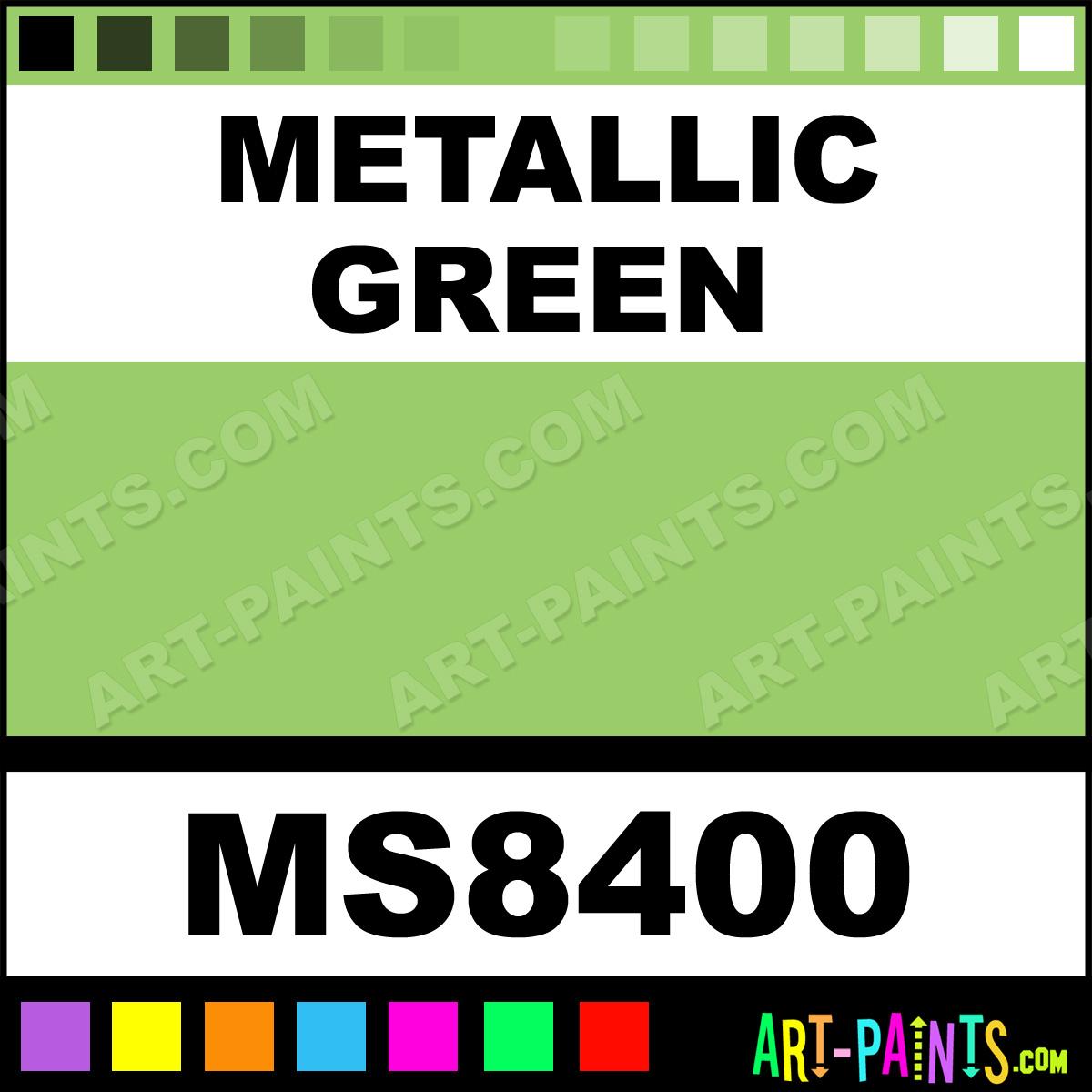 Metallic Green Metallic Marker Calligraphy Inks Pigments