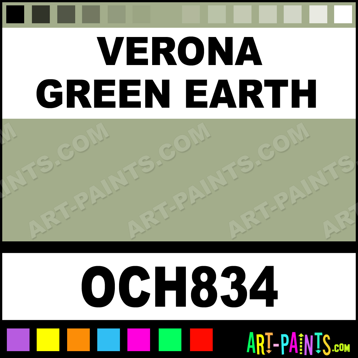 Verona Green Earth Powder Casein Milk Paints Och834 Paint Color Pigments