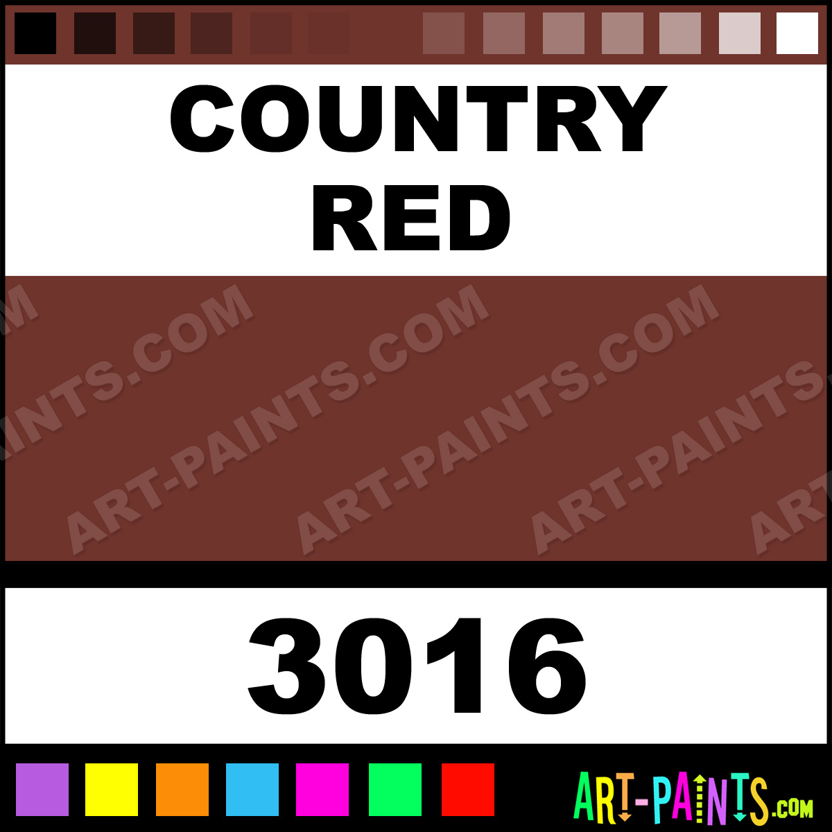 Country Red Milk Paint 3016 By Olde Century Colors