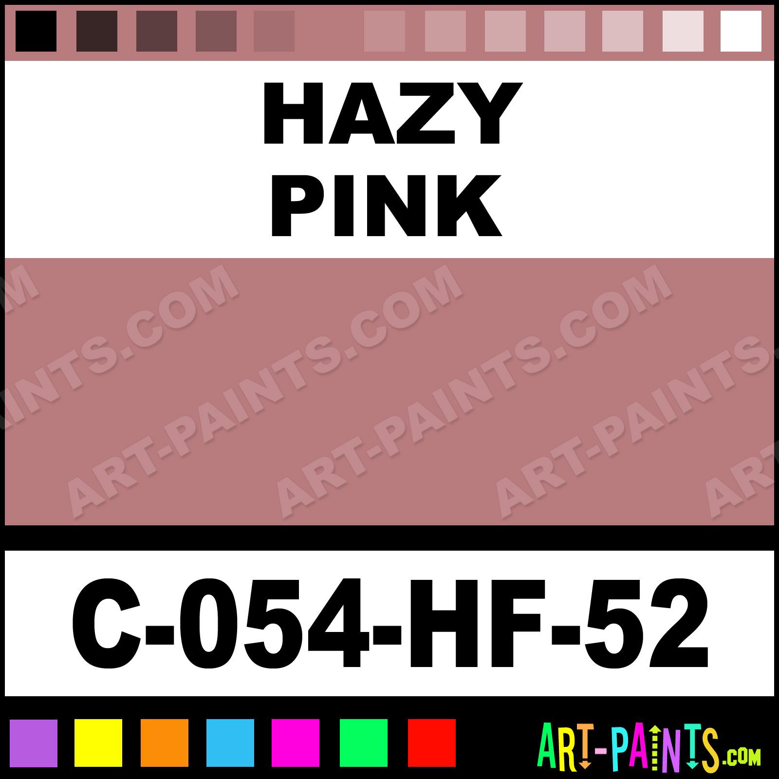 Hazy Pink Paint