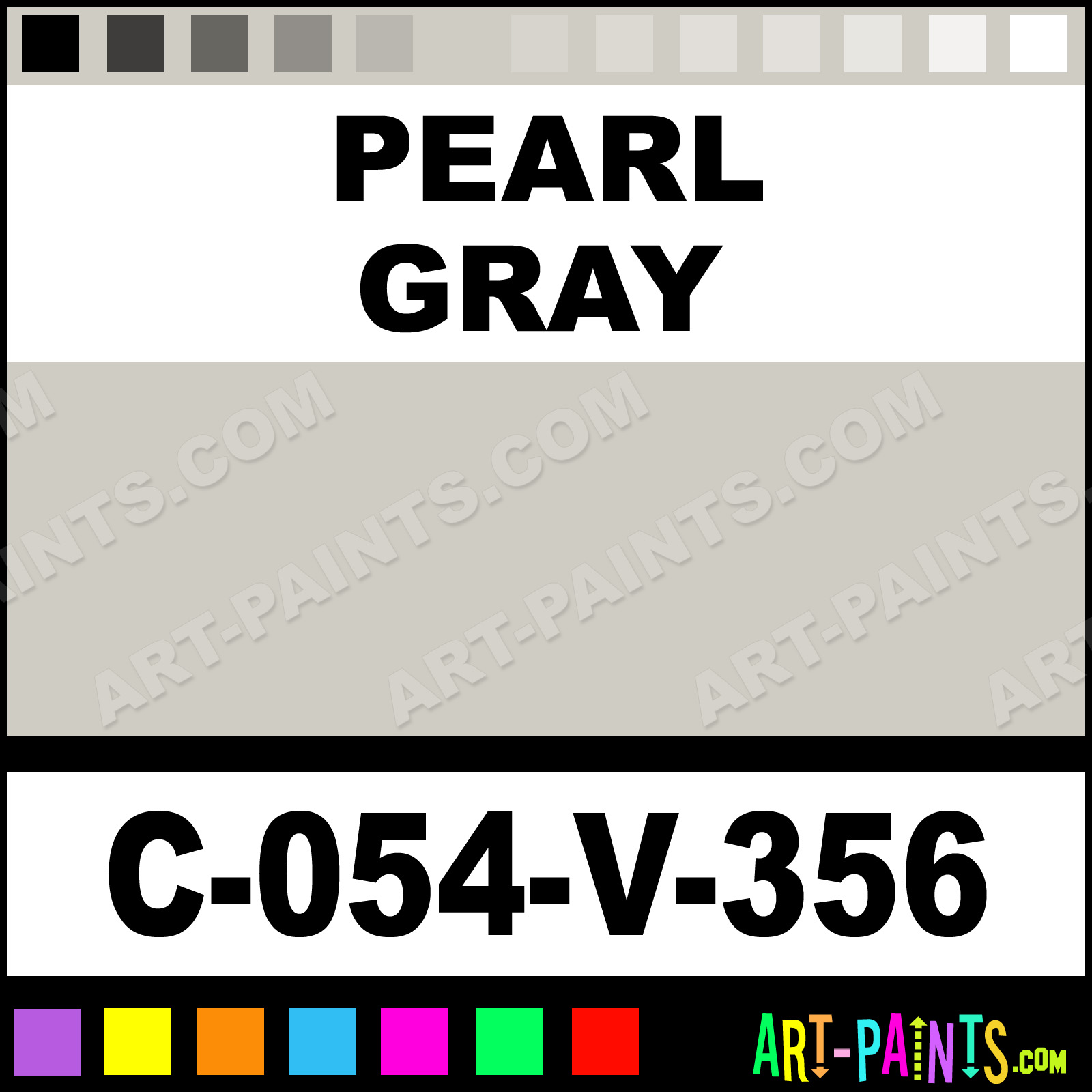 Pearl Gray Paint