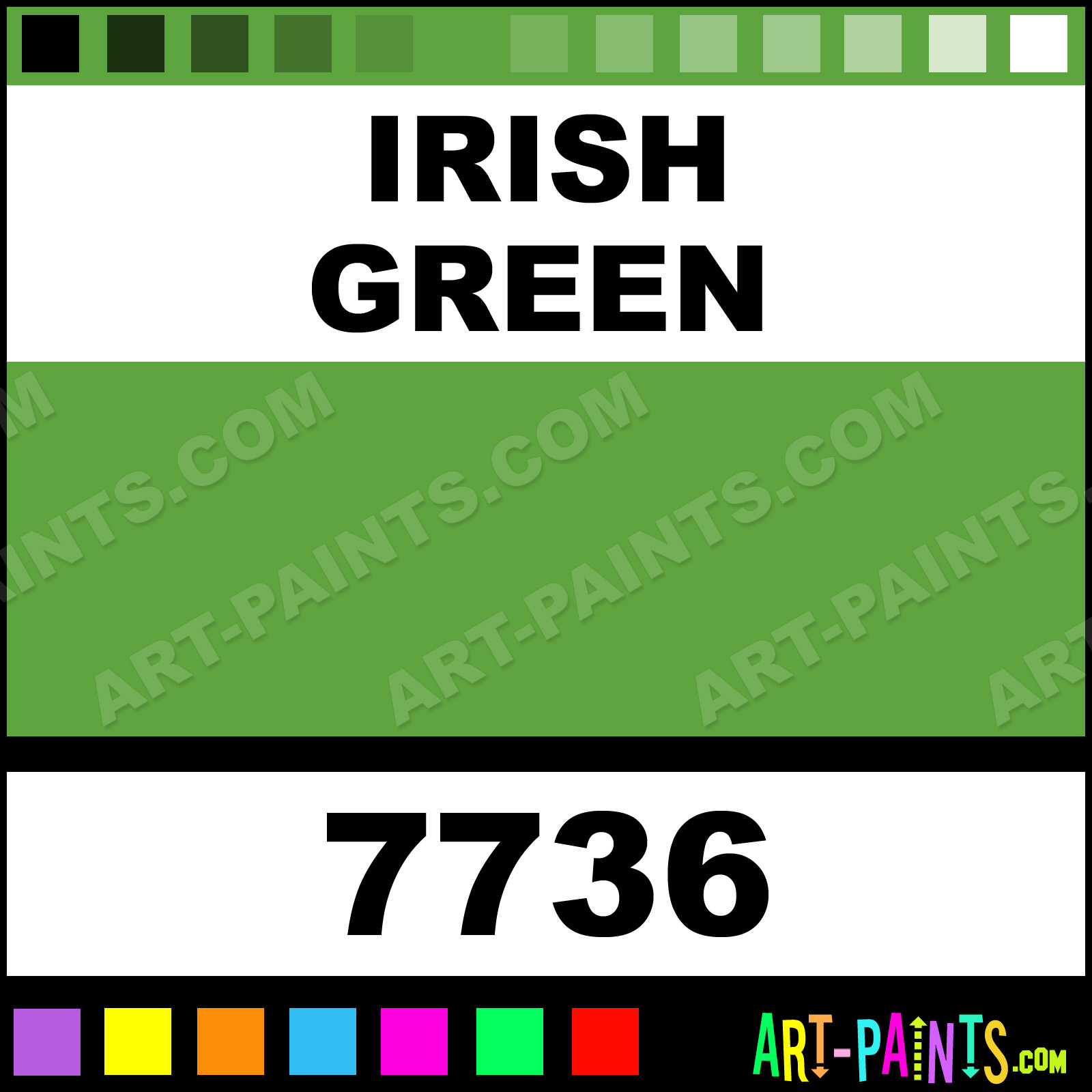Irish Green Paint