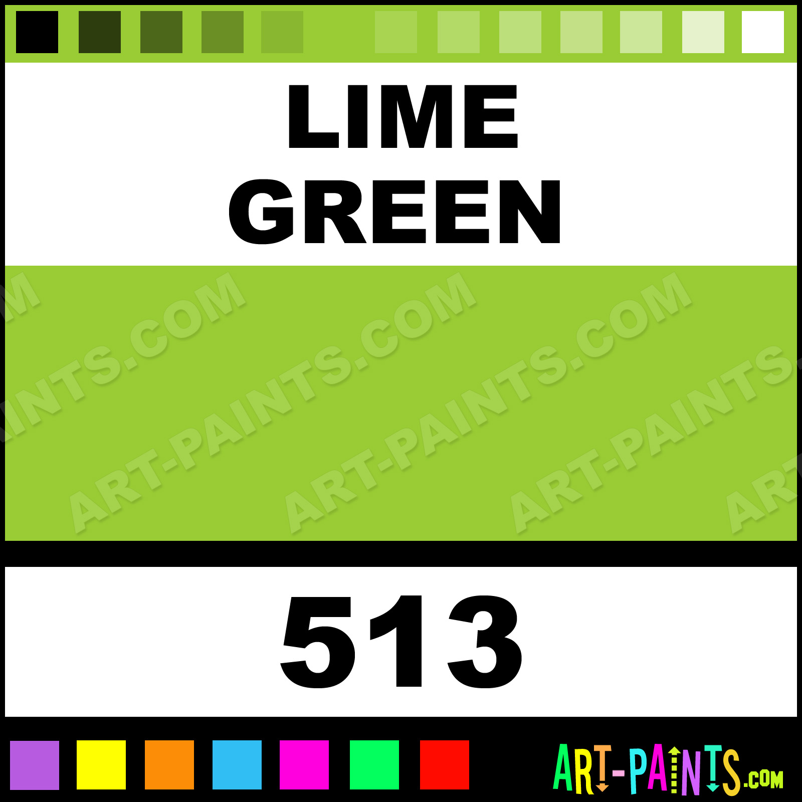 Lime Green Bisque Ceramic Paints 513 Lime Green Paint Lime Green Color Chromacolour Bisque