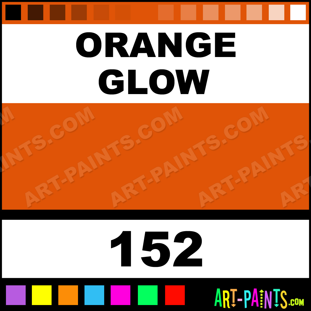 orange glow opaque stain ceramic paints 152 orange glow paint. Black Bedroom Furniture Sets. Home Design Ideas