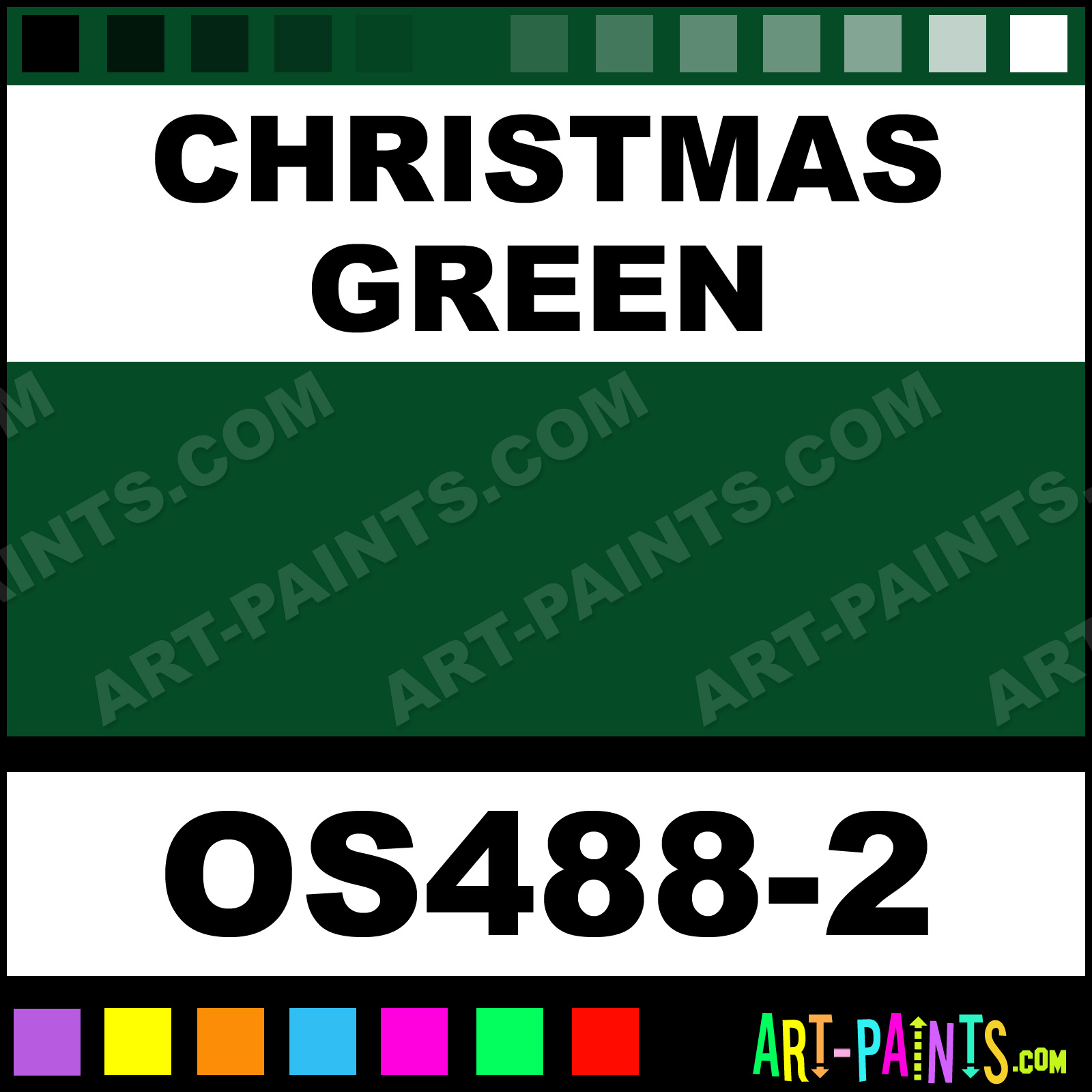 Christmas Green Color.Christmas Green Bisque Stain Ceramic Paints Os488 2