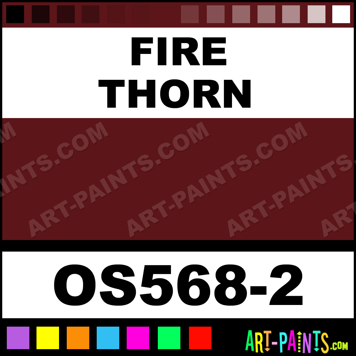 Fire Thorn Paint OS5682 by