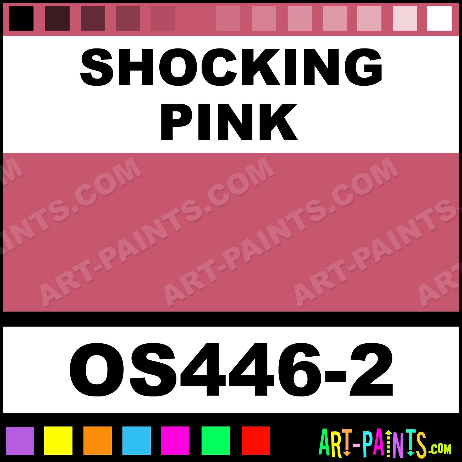 Shocking Pink Paint
