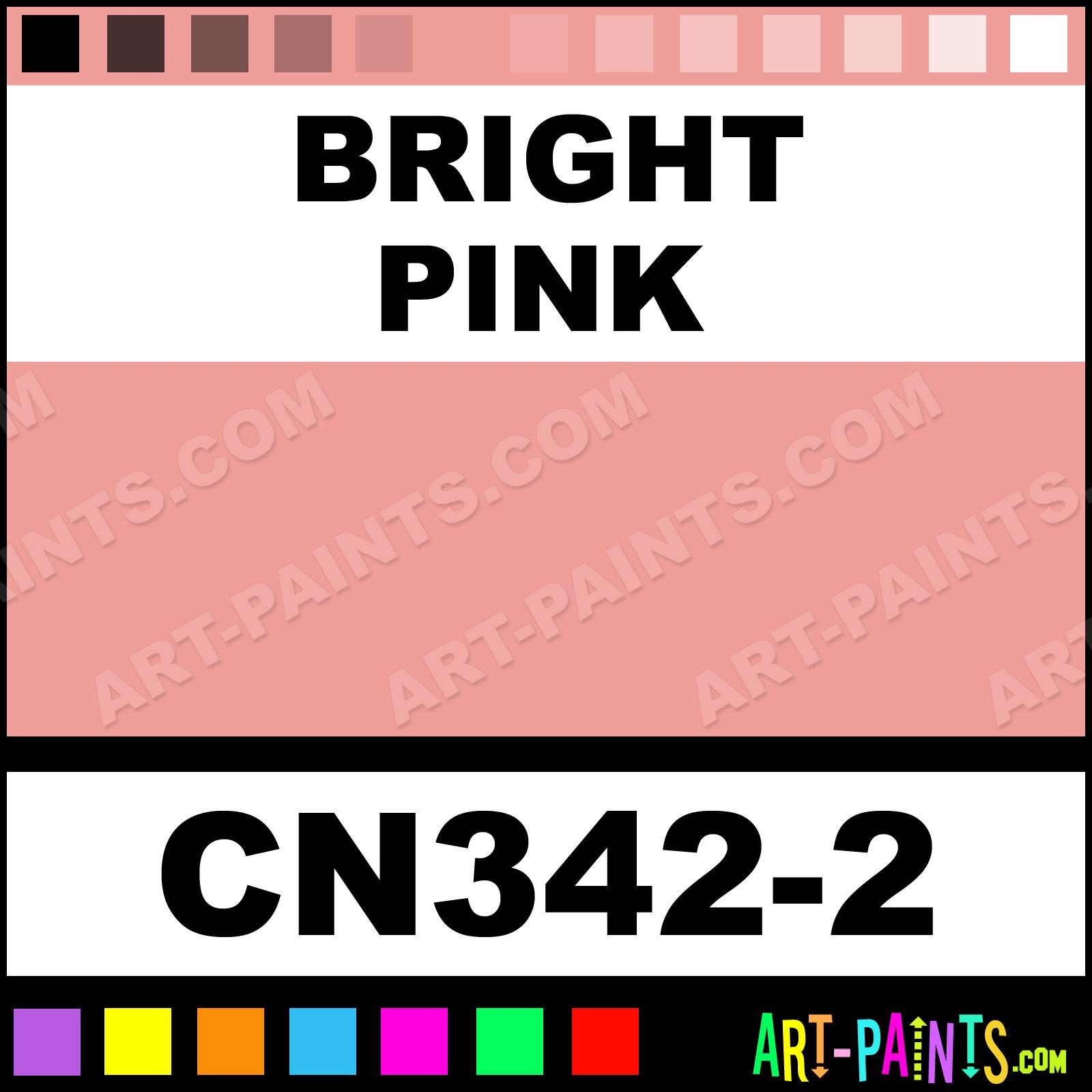 Bright Pink Paint Samples Kitchen Towels: Bright Pink Concepts Underglaze Ceramic Paints