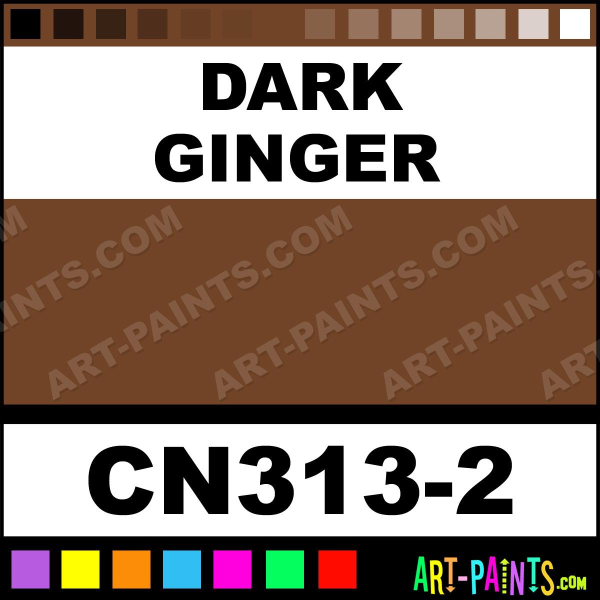 Dark Ginger Concepts Underglaze Ceramic Paints Cn313 2