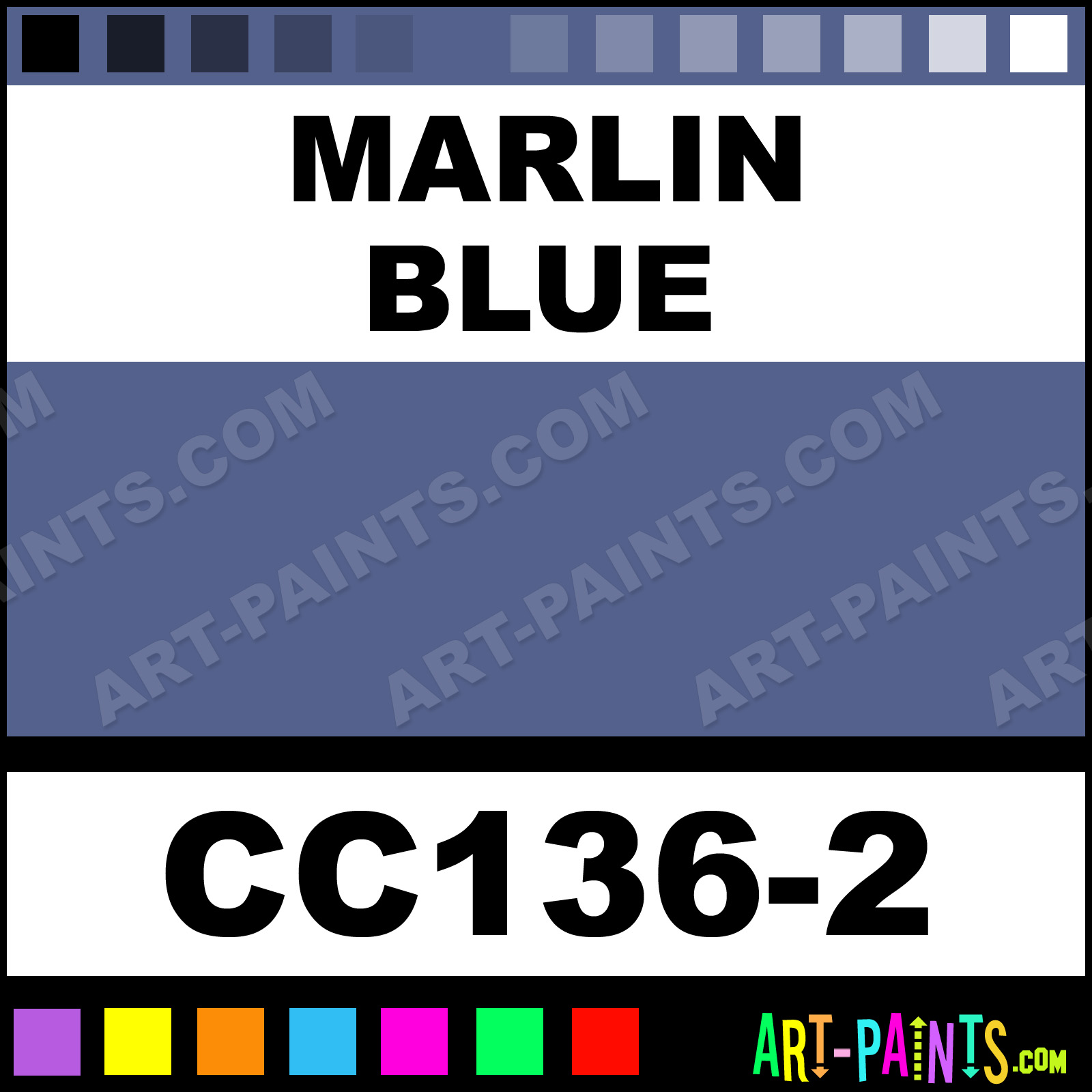 Marlin Blue Painting - Charleston, SC - Painter in Charleston