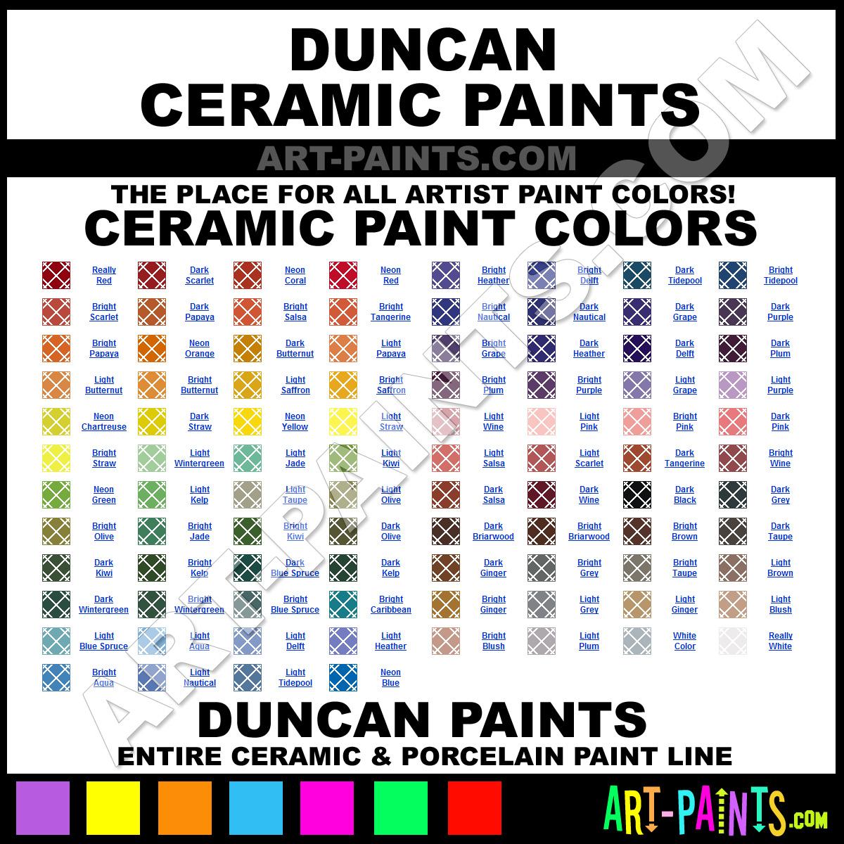 Duncan ceramic paint brands duncan paint brands ceramic paint duncan ceramic geenschuldenfo Choice Image