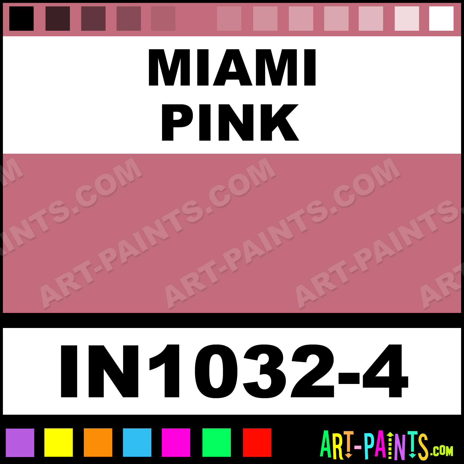 Miami Pink Paint