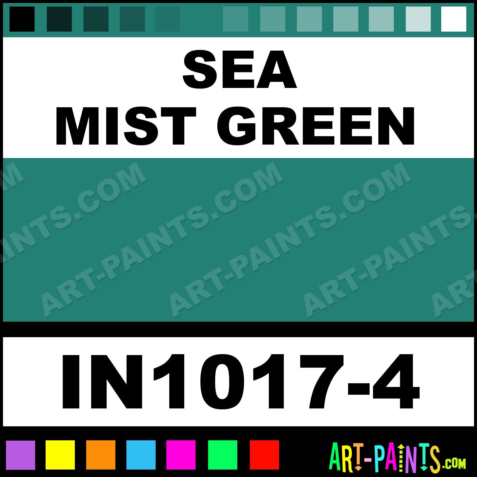 Sea Mist Green Paint