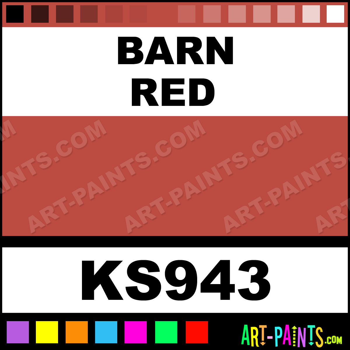 Spray Paint To Match Barn Red