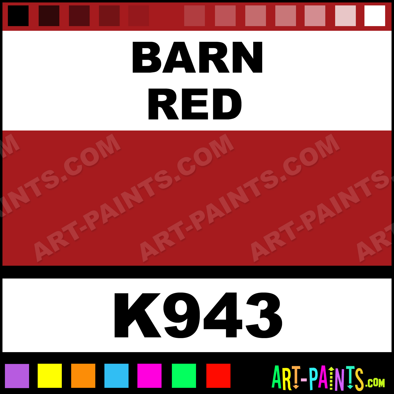 Barn Red Paint